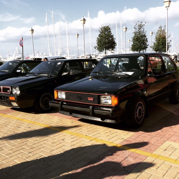Rabbit Gti & Integrale 16v in the sun