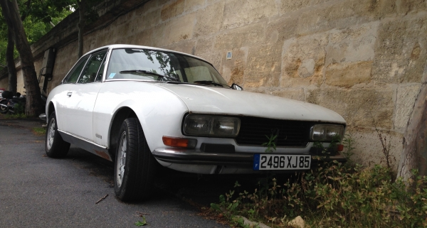 Peugeot 504 – nature nurture and all that.