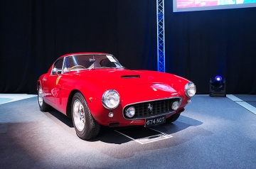 Sold! 'Shabby chic', but out of long-term (40 years+) ownership, 'matching numbers' and having the very best sort of 'stories': trips to the pub and cross-european adventures. $11.5m ex-Colton Collection Ferrari 250 GT SWB