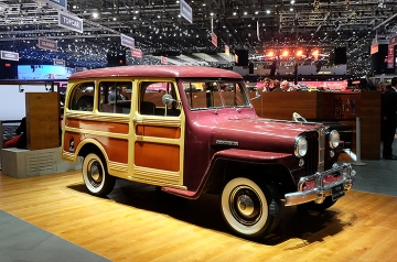 ... and Willys Jeep Station Wagon. Home on the Range