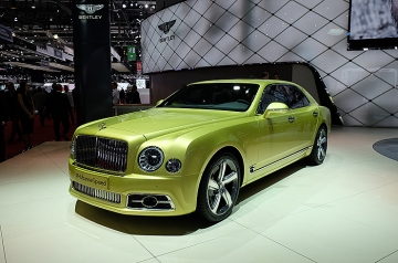 Not for shy, retiring types, Bentley's latest Mulsanne