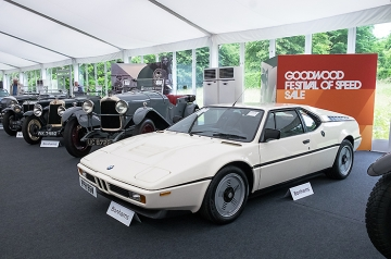 Old meets new: £303k BMW M1 and some oldies