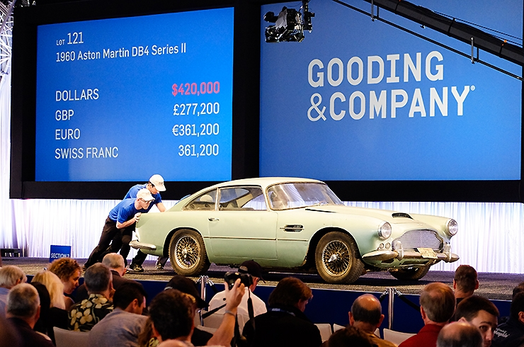 Spot the difference: Scottsdale 2015 and DB4 sells for $420k. At $1.515 that's £277k. Today, make that £318k