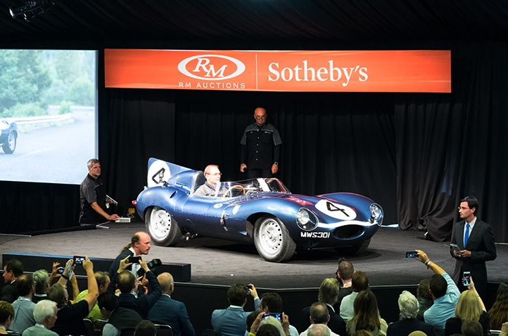 D-type and Cobra pull in the big numbers for RM at Monterey