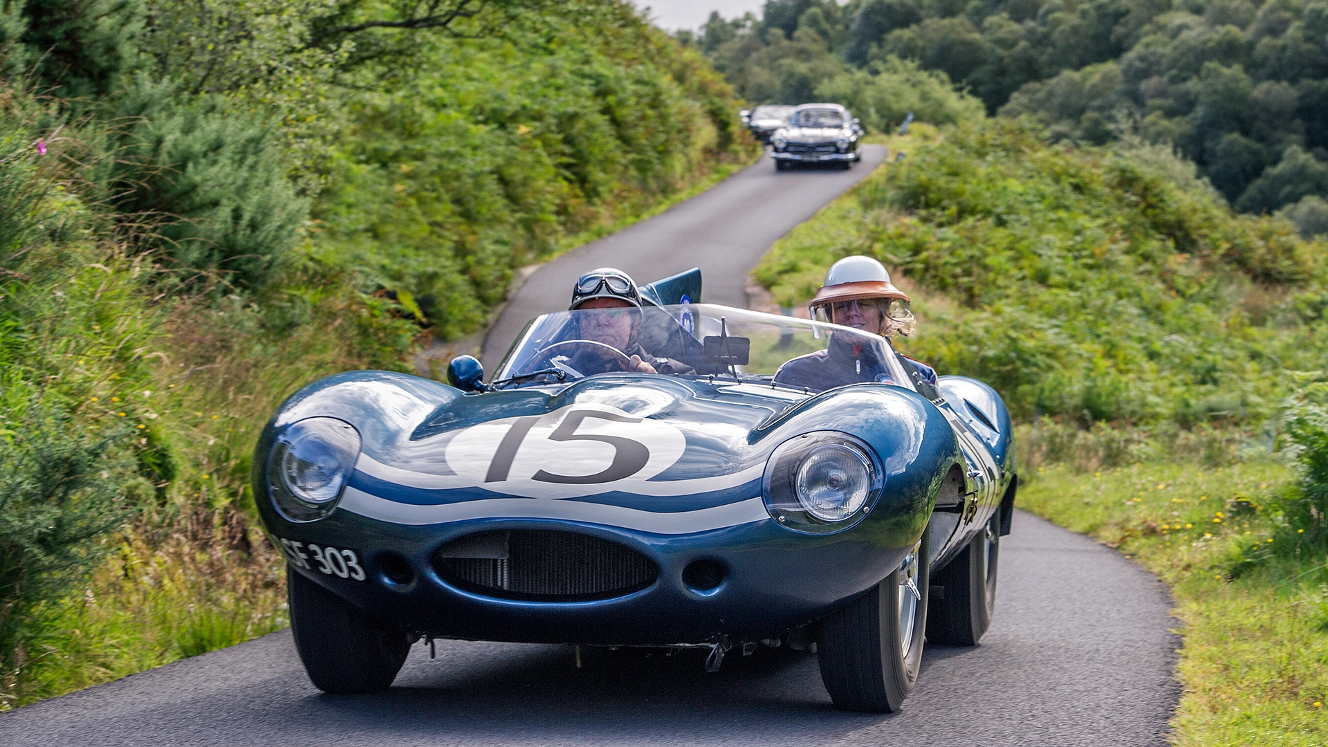 """It was 60 years ago today…"" D-types to star at Concours of Elegance"