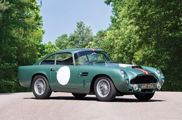 The very first DB4 GT, with Works 'DP' chassis number