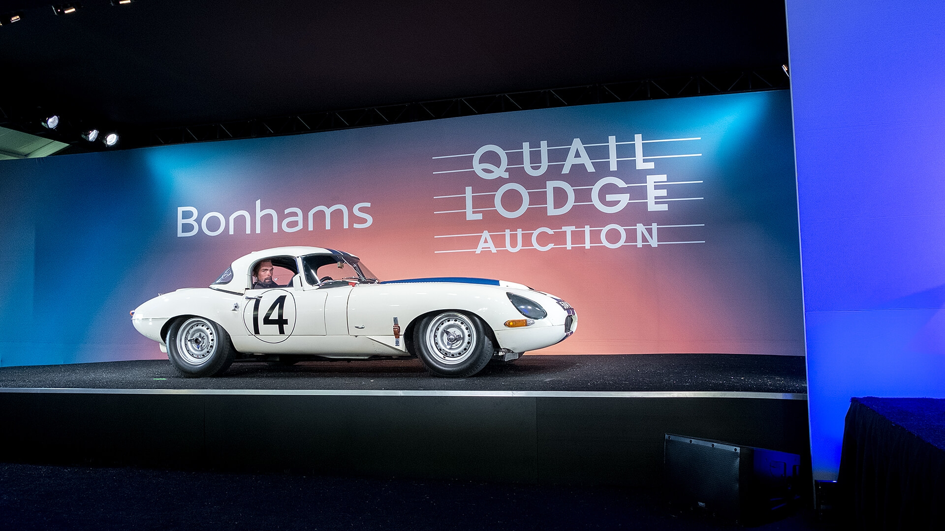 Lightweight E-type sells post-sale for $8m