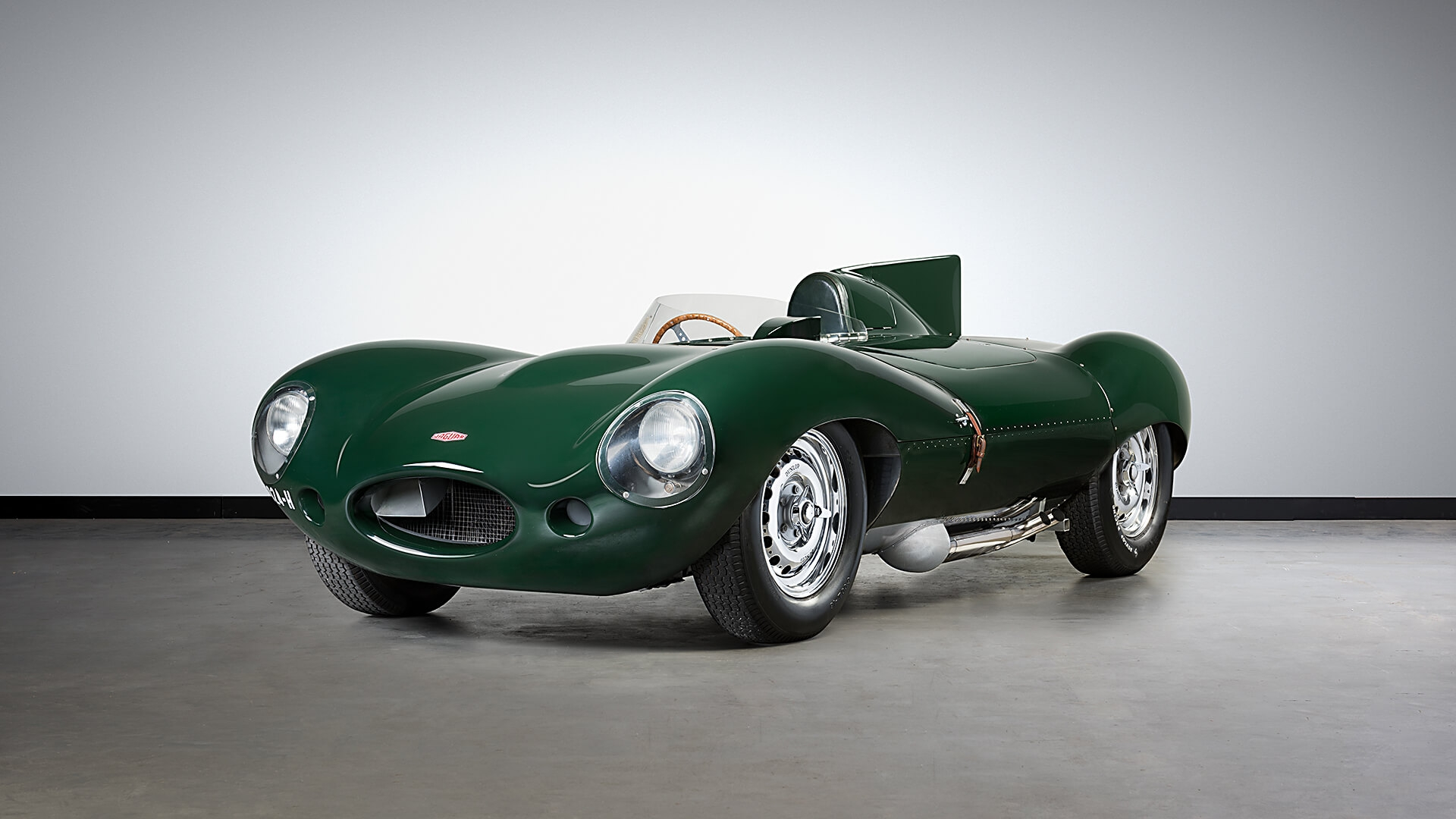 Mossgreen to offer down-under D-type at Motorclassica
