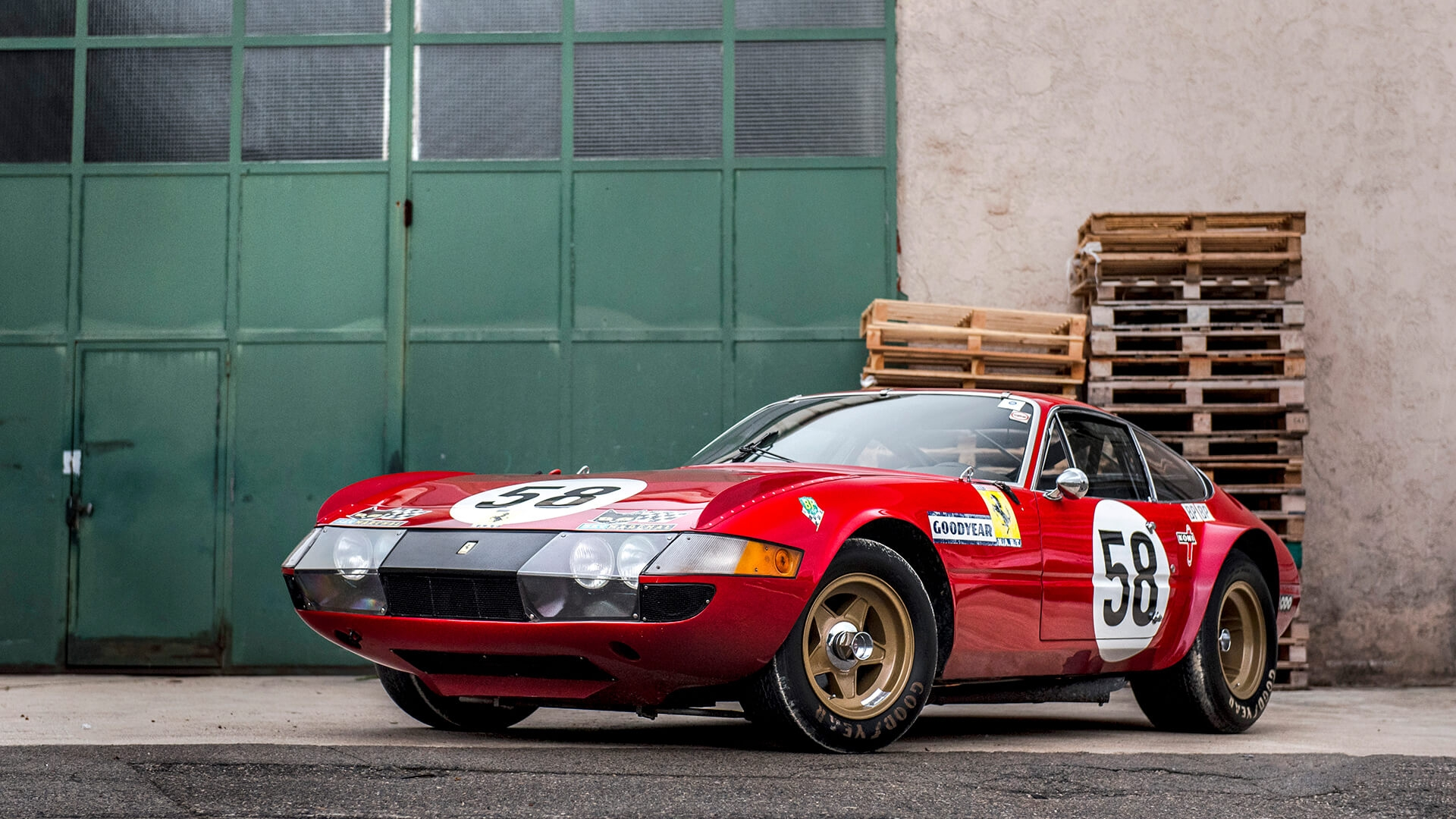 Third time lucky for ex-LM 'Daytona' at the Le Mans Classic sale?