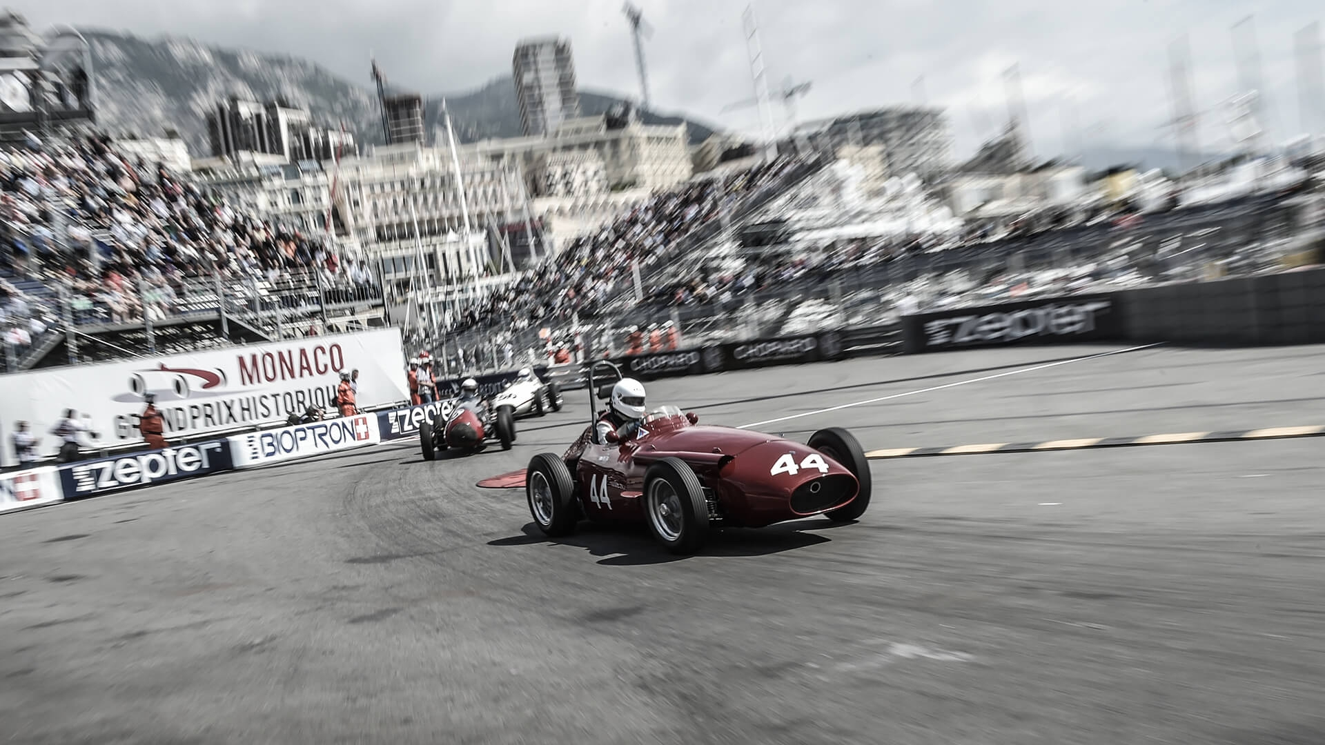 The Monaco Historics from the inside