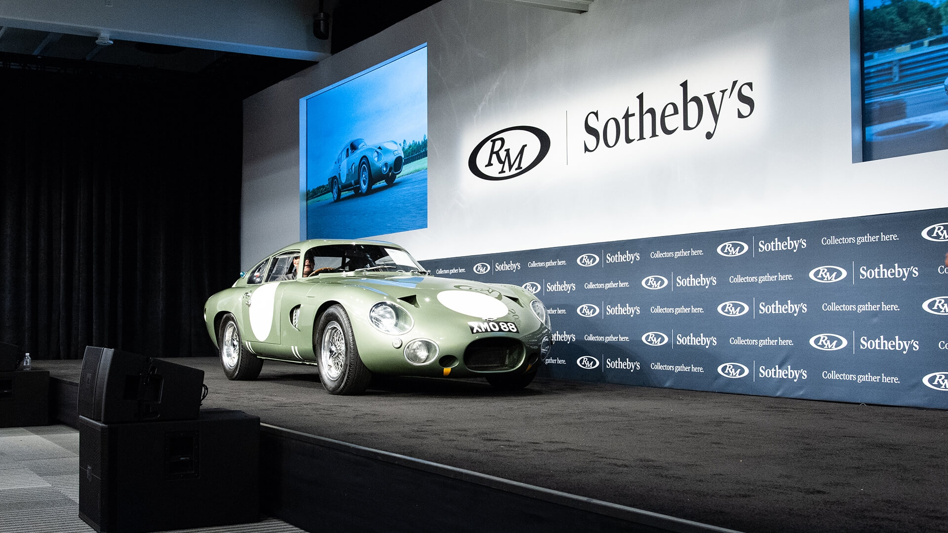 $21.455m Aston Martin DP215 leads the pack at RM's Friday auction