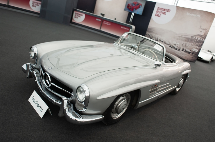 £754.2k all-in 300 SL Roadster