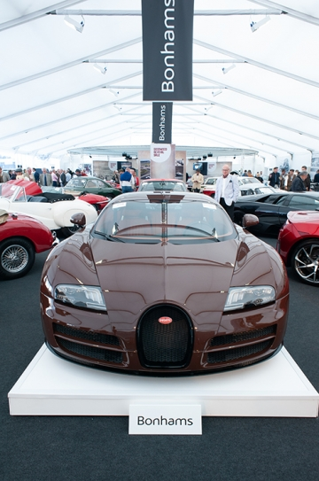 No one fancied the brown Bugatti