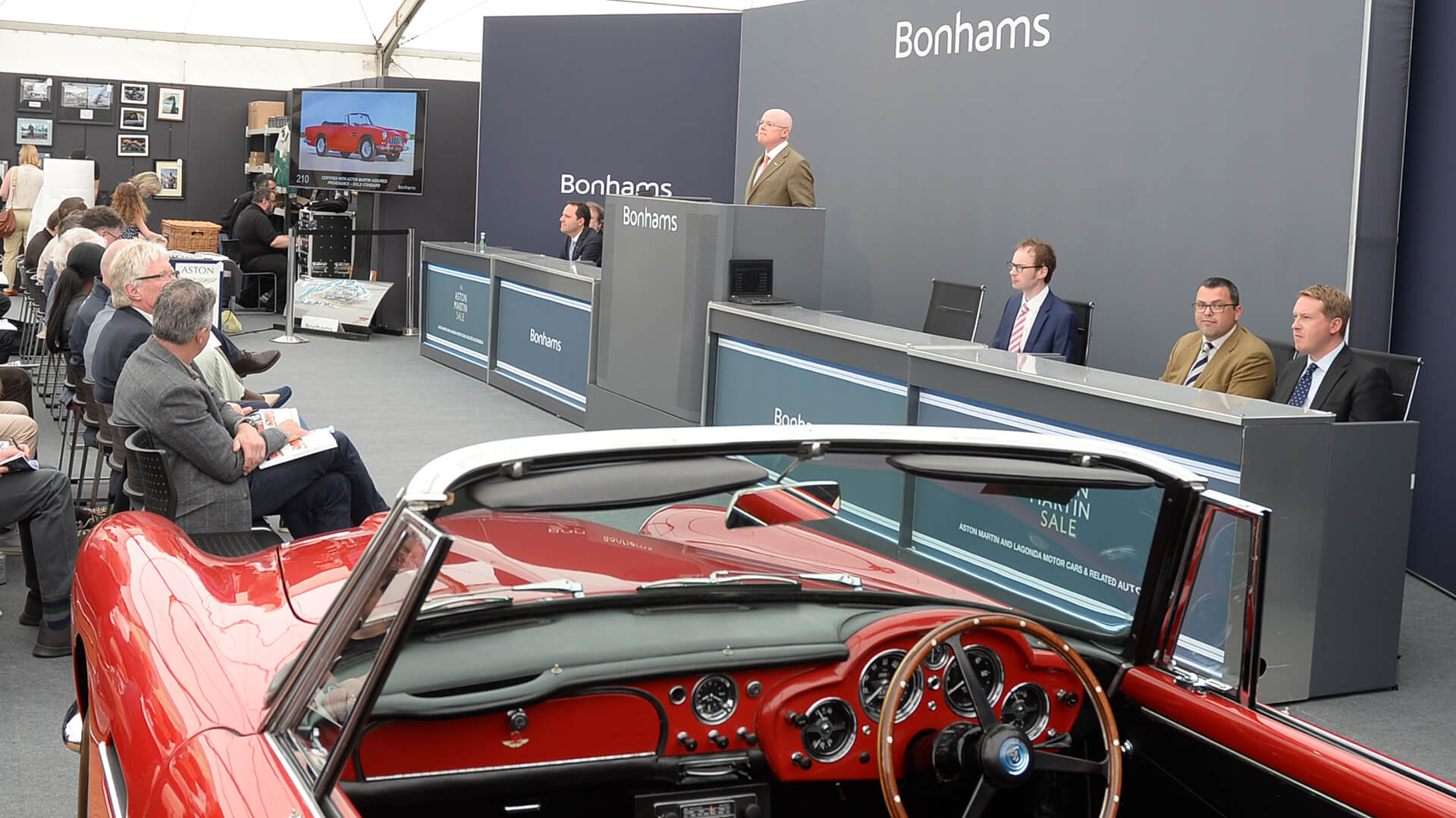 £861k DB5 leads the way at lacklustre 2019 Aston Martin sale
