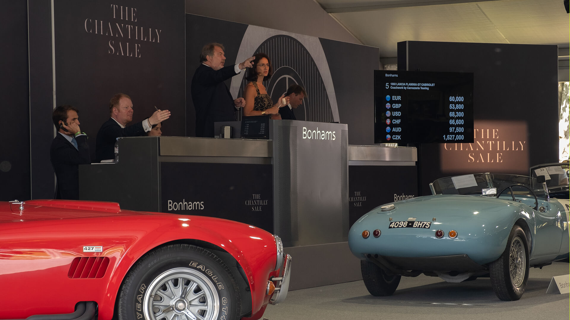 Bonhams takes the heat in Chantilly