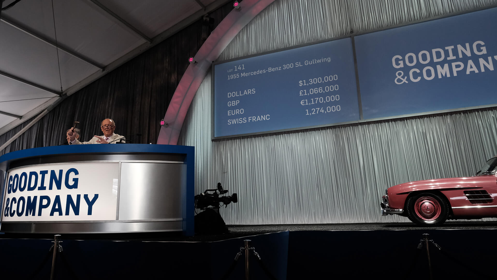 Gooding wraps up two-day, $76.8m 2019 Pebble Beach auction