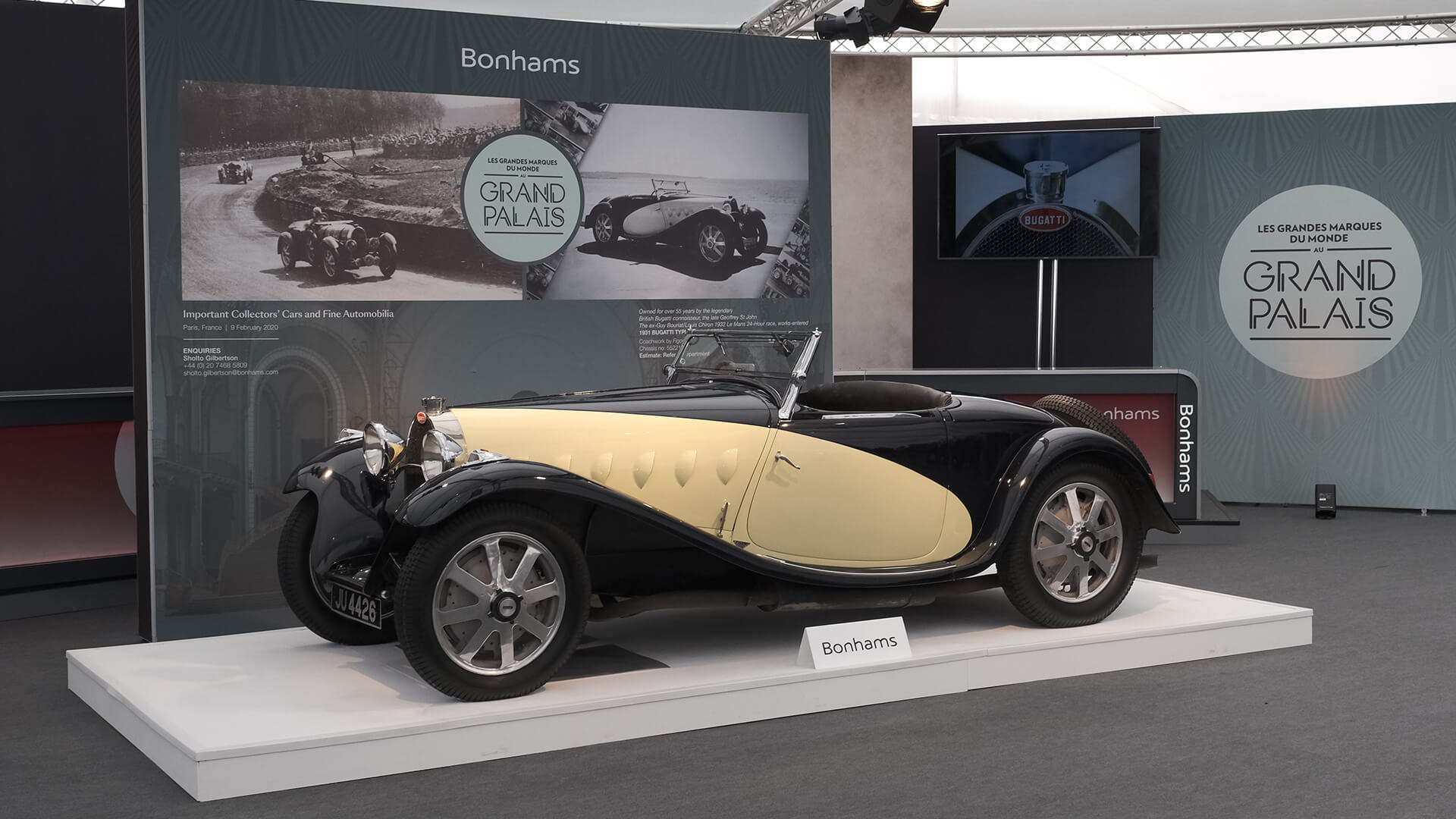 Bonhams to offer 1932 Bugatti Type 55 at Rétromobile 2020