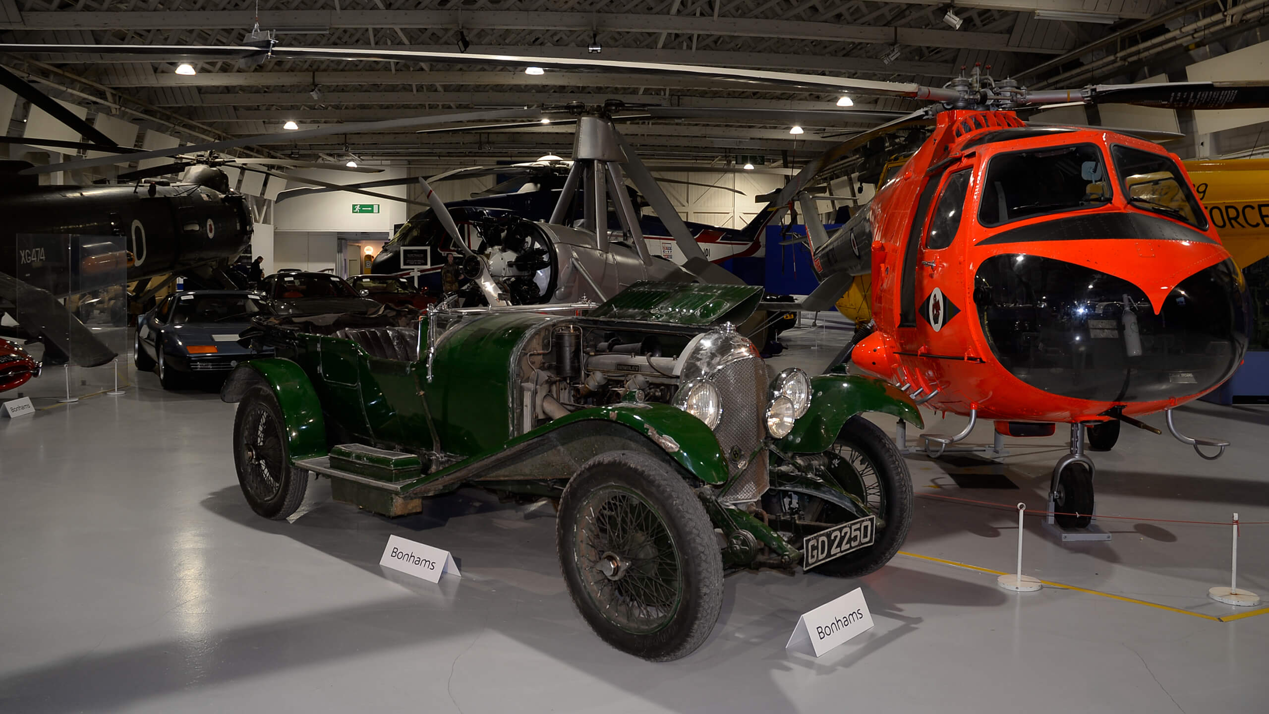 £1.78m gross – a bumpy landing for Bonhams at the Hendon RAF Museum