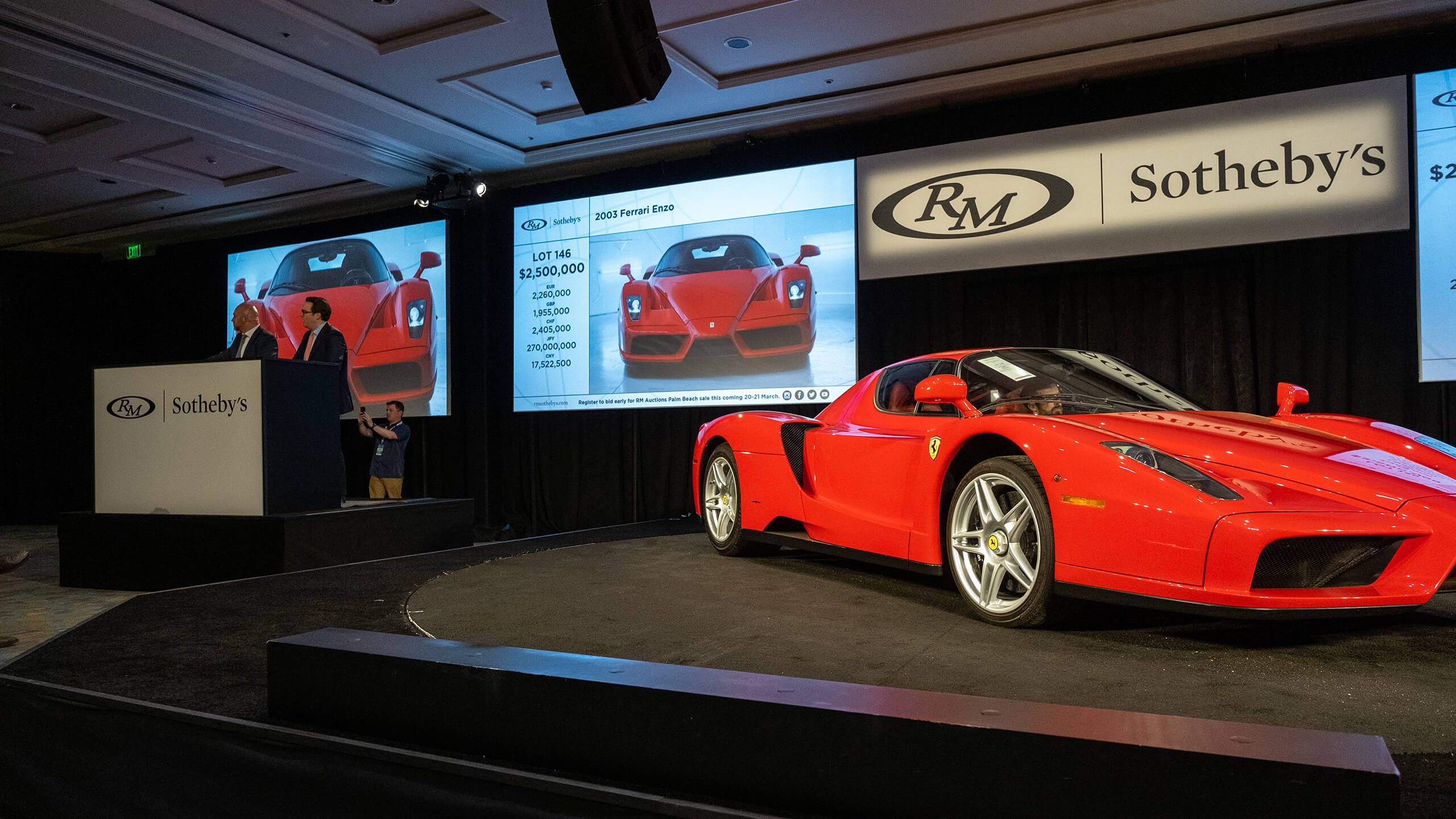 Amelia Island 2020: Day one for RM Sotheby's at the Ritz Carlton