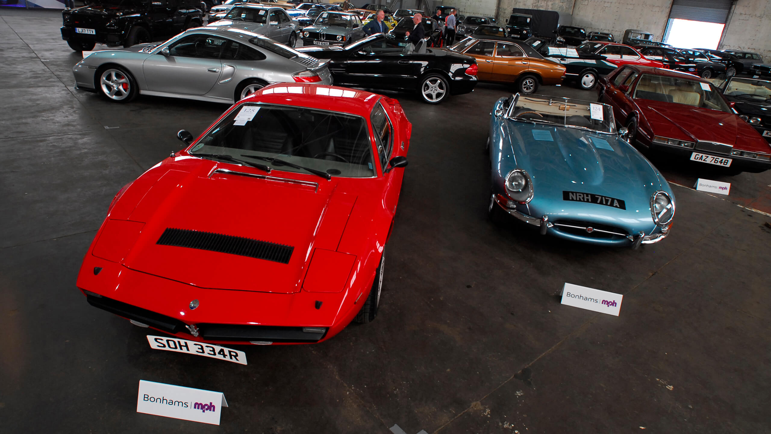 Bonhams' £2.2m 25 July 2020 MPH auction