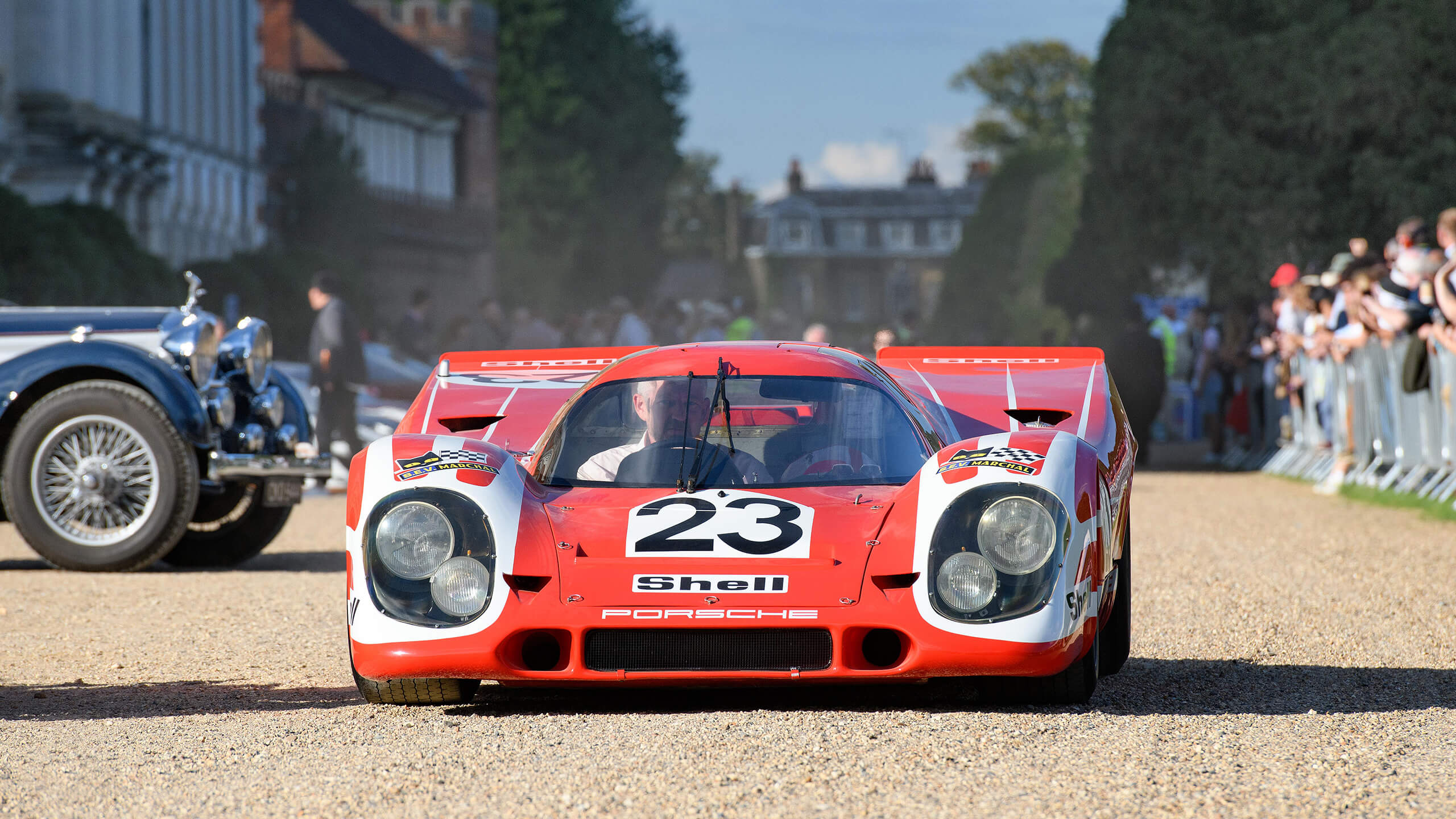 Le Mans-winning Porsche 917K triumphant at the 2020 Concours of Elegance