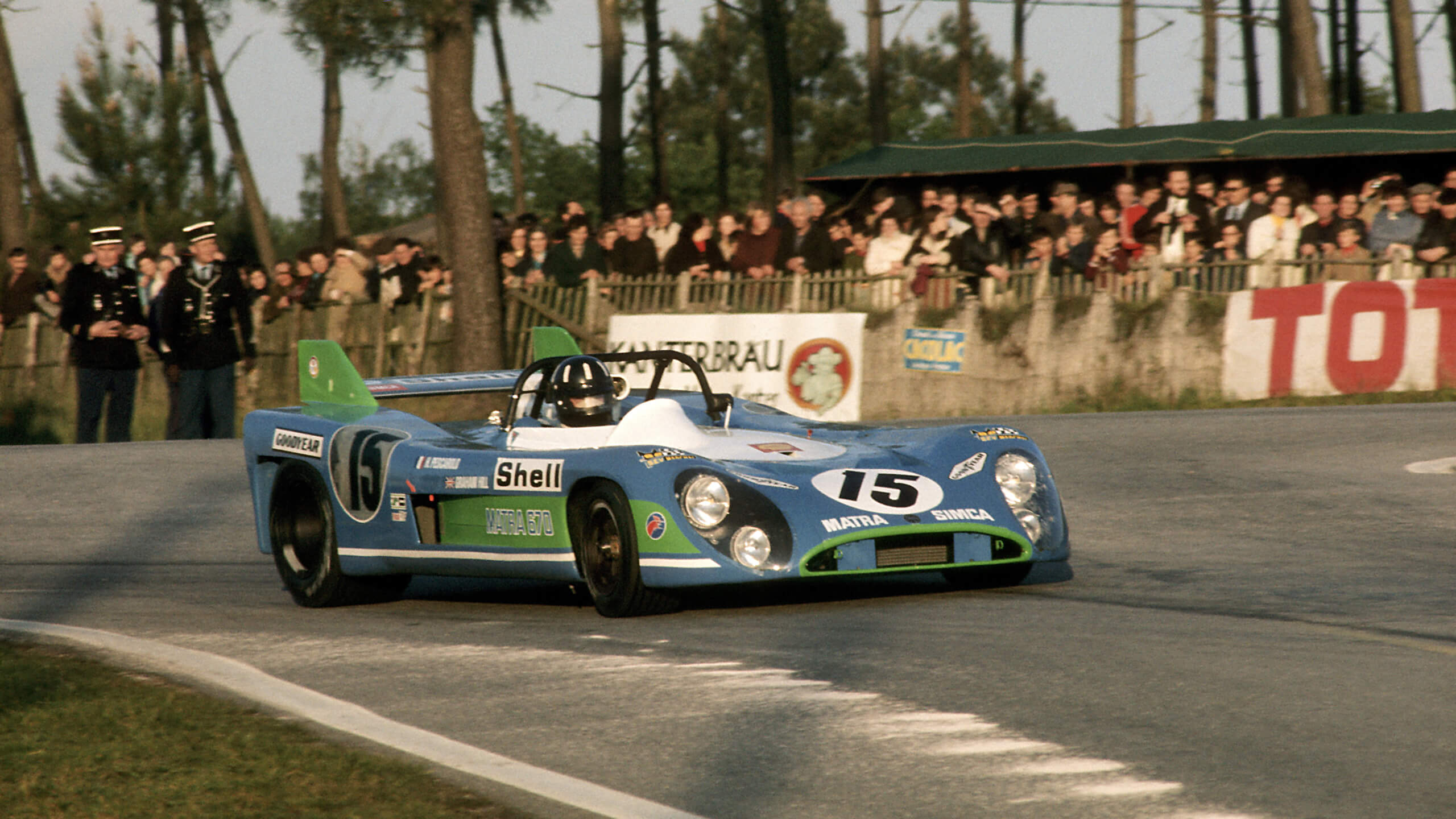 Artcurial sells 1972 Le Mans-winning Matra MS 670