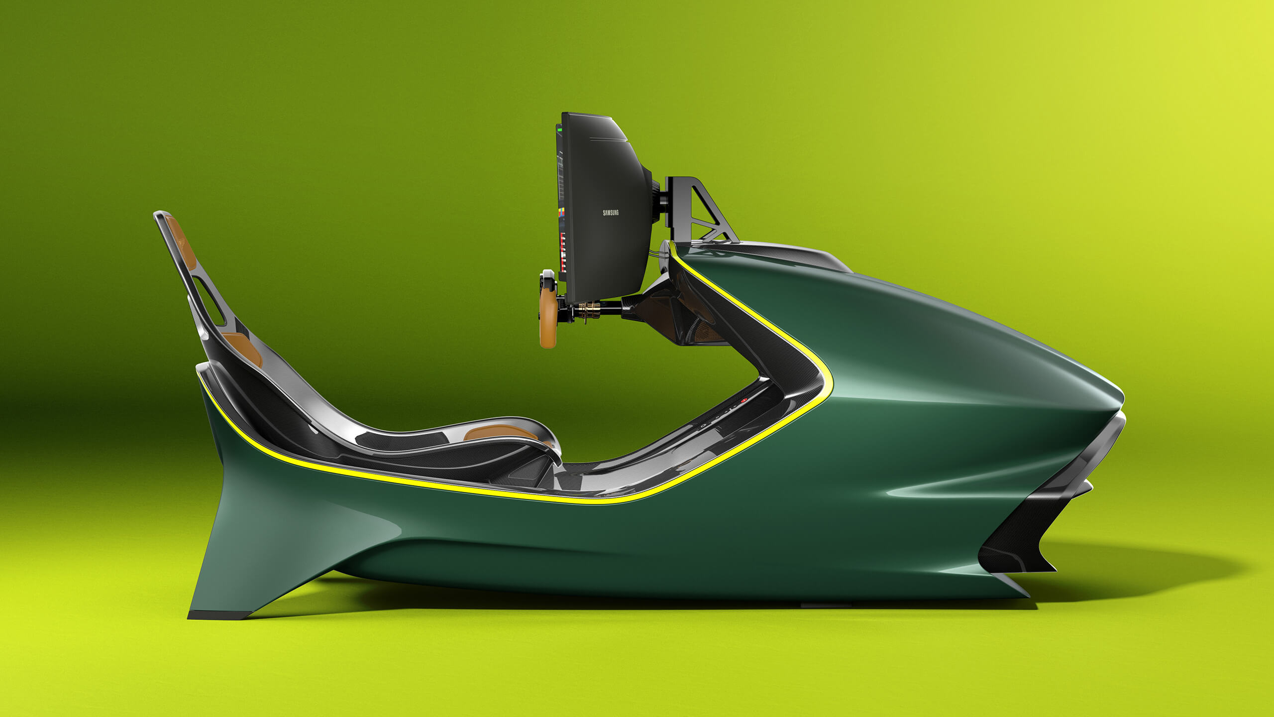 Working (at the wheel) from home: The Curv AMR-C01 simulator