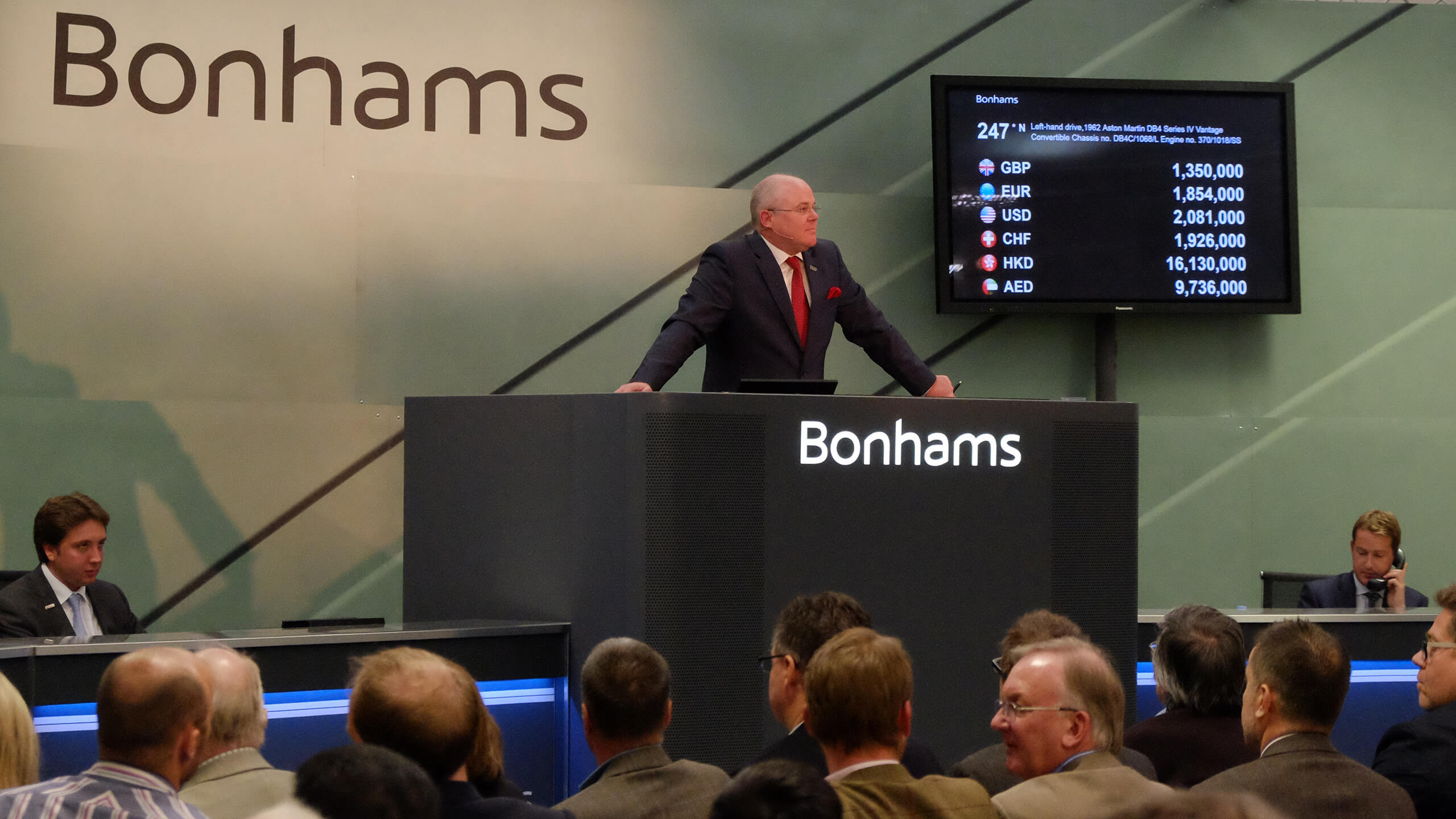 All change at Bonhams