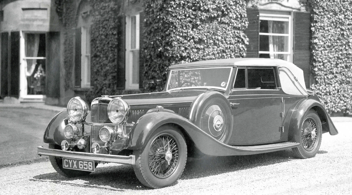 Alvis 4.3 Litre Classic Cars Index – K500